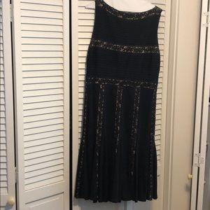Tadashi Shoji Navy Dress